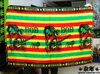 Reggae rasta sofa scarf valance flag 4