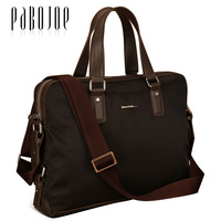 Commercial pabojoe 2013 canvas briefcase laptop bag circled