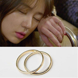 Wholesale - Min.order is $15 (mix order) Korean zoe yeh gold pinky ring female finger ring(China (Mainland))
