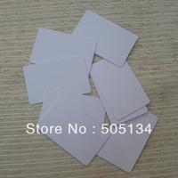 Hot Sale Blank  White 0.76mm Thin Inkjet PVC Card,20pcs/lot