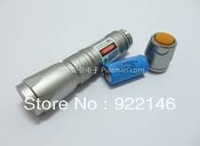 GLP807 Green Laser Light Flashlight Pointer Pen Spot Size And Focal Length Adjustable Laser 200mw Brandnew Shipping Wholesale