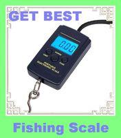 Freeshipping 40kg x 10g Portable Mini Electronic Digital Scale Hanging Fishing fish Hook Pocket Weighing Balance wh-a01L