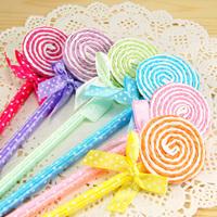Stationery   fresh sweet cartoon lollipop pen/ candy ballpoint pen
