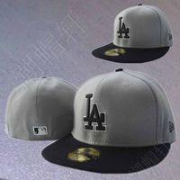 Mlb dodge hiphop hip-hop baseball cap bboy hiphop flat brim cap picotee gray