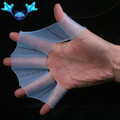 silicone Swimming in the palm of your hand fins Hot-selling frog silicon palmar outsweep of silica gel webbed gloves(China (Mainland))