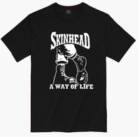 Skinhead 7007 short-sleeve Men punk t-shirt punk04