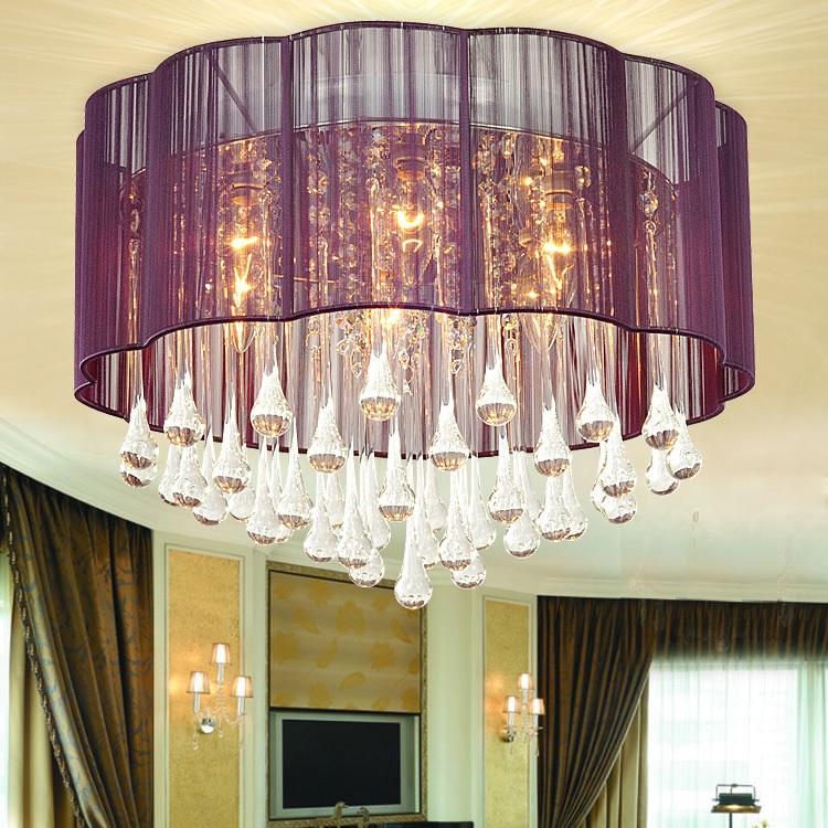 Crystal lamps fashion modern ceiling light bedroom lights restaurant lamp lighting drawing light 2213 / msg adjust shipping(China (Mainland))
