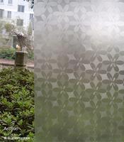 High quality scrub glass paper glass stickers window glass film paper window stickers dodechedron bathroom transparent