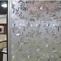 Static plastic window glass film paper glue electrostatic 3d laser symphony glass film60cm*5M free shipping