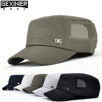 For Hat male outdoor female sun hat summer hat breathable military hat cadet cap mesh cap