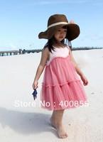 Summer 2013 new models Dress veil skirt princess dress,Cute baby girls sundress,kids one piece dress,fashion girls vest dress
