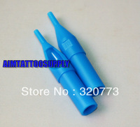 Tattoo Tips Plastic Tattoo Needle Tip Blue 7R free shipping