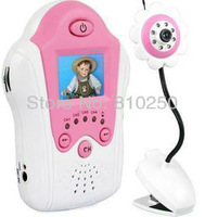 Wireless Baby monitor 2.4GHz digital video baby monitor 1.5inch baby monitor Free Shipping