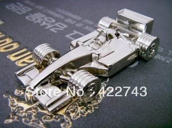 256g mini race car fashion usb flash drives free shipping