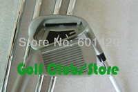 New style i20 Golf Irons set with Steel shaft 3-9, S W, 9PCS Golf Clubs free headcover Freeshipping