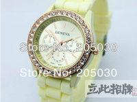 MIN order 2pcs geneva watch wholesale wrist watch jellywatch hot sale free shipping