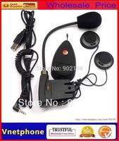 handsfree Micinterphone handphone  1 pcs Motorcycle Wireless Bluetooth Intercom interphone Helmet Headset headphone 100m  FM