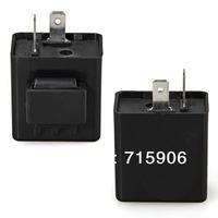 Free shipping Turn Signal Flasher Relay 12V 2 Pin for Motorcycle Motorbike LED Indicator Light