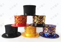 free shipping magic hat folding spring hat,magic cap rabbit magic props