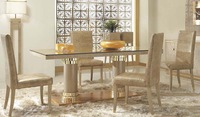 Italian design  furniture   dining table with chair dining room furniture dining room set   J001