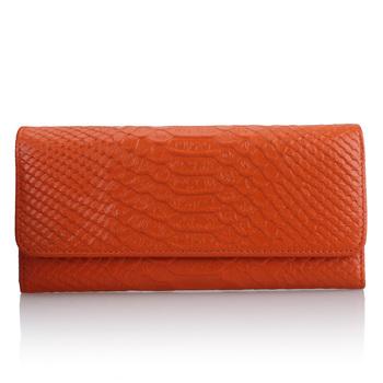 Ke like new genuine leather clutch leather wallet crocodile pattern clutch bag fashion wallet qb015 of