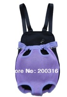 Cute Four Color Selection Sandwich Mesh Pet Legs Out Front Carrier/Bag dog carrier