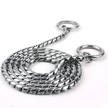 3097 pet snake chain control chain dog training chain zhuaizhu traction rope p chain clip wool collar