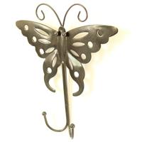 Decoration hook coat hooks butterfly hook clothes hook door after the walls handmade rustic