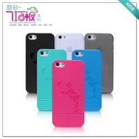 Nillkin mobile phone case ultra-thin for apple iphone 5 ,with Free screen pretector , free shipping