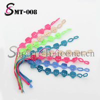 SMT-008 New Arrival!! (Mix order) Italy style neon color lace skull bracelet
