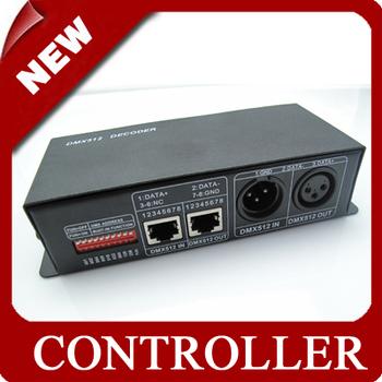 DMX  controller  for RGB LED Strip Lamp led controller Output 3 channels 12V 12A [LedLightsMap ]