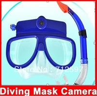 Scuba Diving Mask HD 1280x960 Camcorder DVR-08A and Snorkel Sport DVR Glasses Camera Built-in 4GB