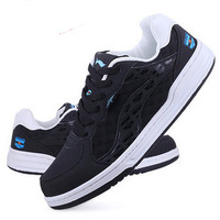 Spring fashion sport shoes male the trend of casual shoes low breathable thermal female skateboarding shoes