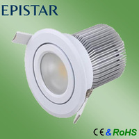 saa ce rohs free shipping 10w warm white dimmable downlight