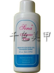 hot selling100% SINA Brand Nail Water Cleanser Plus For UV GEL Acrylic Nail Art Tips Remover 2fl.oz Capacity Freeshipping 046com(China (Mainland))