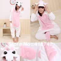 JapaNEW Adult Kigurumi Animal Sleepsuit Pajamas Costume Cosplay Onesie Unicorn Pink
