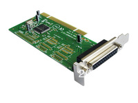Hot sale!! Brand IOCREST 1 Parallel Printer Port (LPT1) PCI Controller Card with long &short sheetiron