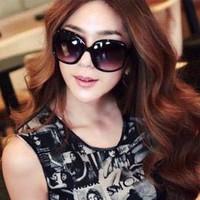 Gradient sunglasses female 2013 big box elegant sun glasses all-match driving mirror