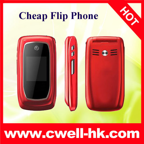 new arrive high quality and cheap V2 Dual SIM Card Flip Mobile Phone free shipping(China (Mainland))
