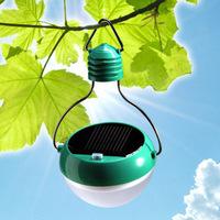 4pcs/lot Novelty Solar LED Lamp Portable Waterproof Outdoor Energy Conservation Light