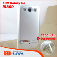 3200mAh Power Bank External Backup Battery Case for Samsung Galaxy S3 SIII i9300 Free Shipping