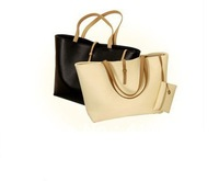 Free shipping Bags women 2013 Simple Korean Style PU leather bags,Classic Ladies's handbags/Totes bags