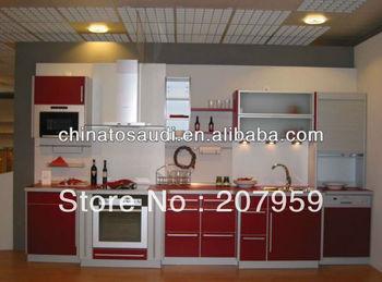 kitchen cabinet high gloss uv mdf & acrylic mdf
