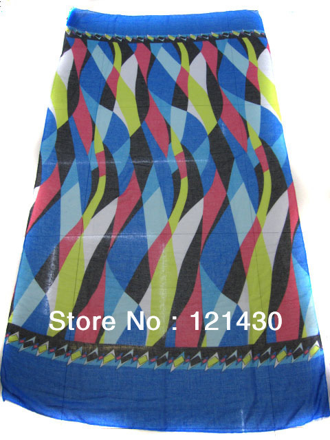 Free Shipping, Lattice Scarf, Beautiful Geometric Patterns Scarf,Style Warm Shawl,Shawls Prevent Bask!(China (Mainland))