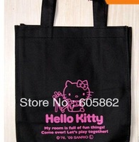 New hello kitty nonwoven fabric shopping bag / Shoulder bag/Shopping Handbag  A0312