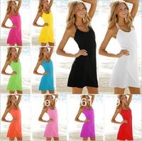 Free shipping New arrival selling beach dress lovely beach dress sexy swimwear 11colors princess dress  swimming dress