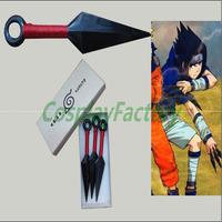 Free Shipping ABS Naruto Ninja Small Kunais,3pcs/set