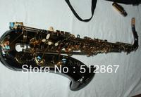 Newest Black Nickel Selmer Alto Saxophone BEST Saxophone FREE CASE Free shipping