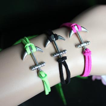 2013 New Arrival Bracelet Jewelry Fashion Infinity Bracelet Handmade silver Anchor Bracelet  Free Shipping B2-199