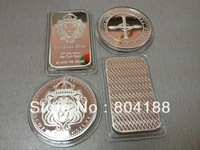 Scottsdale Lion Crown  Coin Double S Logo 1OZ  Round Coins Mix Order 50Pcs/Lot Free Shipping